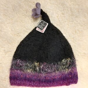 Handmade hats from Finland COLOURS OF AURORA BOREALIS
